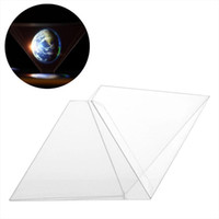 projector cell phone - Stand D Holographic Display Pyramid Projector for Smart Cell Phone lens
