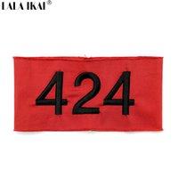 Wholesale 424 Armband Kanye I Feel Like Pablo Arm Warmers Four Two Four Armband Hip Hop Letter Embroidery