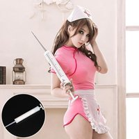 Wholesale Exaggerated Big Syringe Doctor And Nurses Syringes Halloween Constume Cosplay Party Supplies