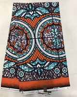 Wholesale 2016 super wax hollandais fashionable Design Colorful veritable dutch real african super wax hollandais printed fabric for dress