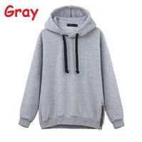 best choice hoodies - Casual Women Drawstring Long Sleeve Zipper Hem Hoodies Plus Size Your Best Choice Perfect Gift For Your Friends
