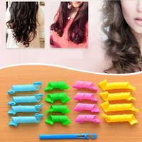 Wholesale Hair tools DIY Magic Hair Curler Roller Magic Circle Hair Styling Rollers Curlers Curling Irons hair rollers A0476