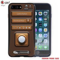 apple button cell - G spot Cell Phone case for Apple Iphone Iphone Plus with Multi function made by TPU PC material leather button pattern No