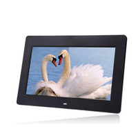 acrylic photos - 10 inch HD TFT LCD Digital Photo Frame Calendar Clock MP3 MP4 Movie Player with Remote Control