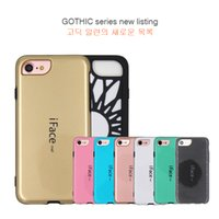 apple accessories protection - Colorful New iFace For iphone Mobile Cell Phone Case Cover s Accessories scratch resistant Fall Dissipate heat Screen protection universal
