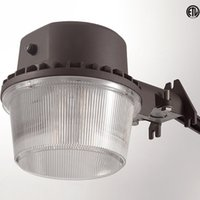 approved securities - DLC ETL approved W LED Street Light Outdoor Barn Light LED Area Lighting Dusk to Dawn Photocell LED Security Yard Lights Floodlights