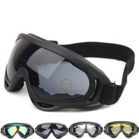 Wholesale Fashion Outdoor Goggles Cycling Sports Goggles Wind Sand Sandals Tactics Equipment Ski Glasses Sports Outdoor Essentials