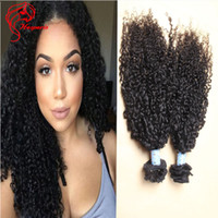 Coupelles de cheveux humains de 26 pouces Prix-Afro Kinky Curly Clip In Human Hair Extensions 120g Full Head 18-26 Inch Mongolian Clip In Hair For Balck Femmes