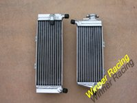 Wholesale Aluminum Radiator Fit For Honda CRF450X CRF X silicone hose kit Free for you suitable for CRF X