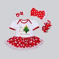 Vente en gros de vêtements de Noël pour bébés vêtements de bébé pour bébés