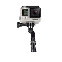 Wholesale Gopro hero Handlebar Seatpost Mount Bicycle Handlebar Seatpost Clamp with Three way Adjustable Pivot Arm