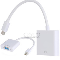 audio port macbook pro - DP to VGA Display Port Male to VGA Female Audio Converter Adapter Cable For MacBook Air Pro MDP Laptop with OPP Package