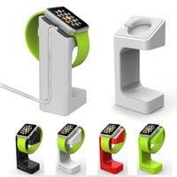 al por mayor manzana-El más nuevo diseño de la manera El soporte de escritorio de lujo sostenedor sostenedor del sostenedor del sostenedor E7 del sostenedor para el sostenedor elegante del sostenedor del reloj de Apple
