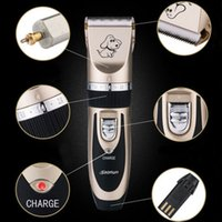 Wholesale Pet Clipper Low Noise Rechargeable Cordless Pet Dogs and Cats Electric Clippers Grooming Trimming Kit Set