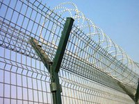 Wholesale High Security Airport Anti Climb Welded Wire Mesh Fence PVC Coated Wire Low Carbon Steel Wire Fence Protect Fence for Airport