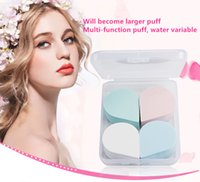 bb buy - Plastic box dry and wet dual use non latex sponge puff foundation BB gourd cosmetic cotton flutter makeup buy get one F0005