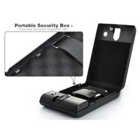 Cheap Home Fashion Portable Security Box Executive Biometric Fingerprint Safe Box Keep Cash Jewelry or Documents Securely H346