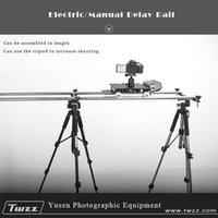 Wholesale Twzz slide rail photography track pairs straight pair curved rails manual car ballhead