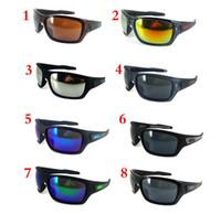 al por mayor resina de vidrio uv-Los vidrios de Sun de los diseñadores de las mujeres de los hombres del precio bajo de las lentes de la resaca de las gafas de sol de los anteojos de la playa del verano 10pcs / lot liberan el envío