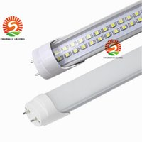 T8 2835 chip opiniones-Sunway SMD3528 4FT 1200MM tubos 25W 28W doble línea LED chips Lámparas de tubo LED 50w Fluorescente Reemplazo 48