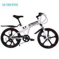 Wholesale ALTRUISM X7 Inch Speed Bike Mountain Bike Bicycle Child Aluminum Double Disc Brake Bikes Children Bicycles Kid Bike