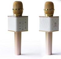 Wholesale Skat Q7 microphone Bluetooth wireless handheld mobile phone karaoke treasure KTV sing karaoke host national GodDual speaker speaker sound