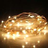 Wholesale 3M LED xAA Battery Operated Led String Mini LED Copper Wire String Fairy Light Christmas Xmas Home Party Decoration Light Warm Pure White