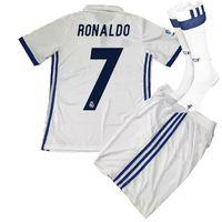 Wholesale BALE KIDS style casual sportswear personality RONALDO Team custom made SERGIO RAMOS Real Madrids Short sleeve
