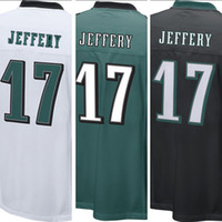 american eagles - 2017 Men s Philadelphia Eagles Alshon Jeffery Green Game Jersey Alshon Jeffery American football jersey stitched