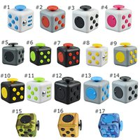 Wholesale Newest hottest Decompression Toy Fidget cube the world s first American decompression anxiety Toys by DHL free