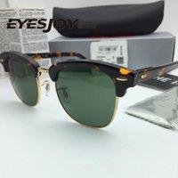 Wholesale classic Sunglasses for men Brand Designer Sunglasses High Quality UV400 mm Unisex Metal Women Sunglasses brands With Original Box
