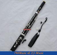 Wholesale High Grade Bakelite Eb Bassoon cupronickel bocals Silver key New instrument Case