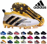 ace meshes - Adidas Ace Purecontrol Primeknit Soccer Cleats Firm Ground Cleats Trainers NSG FG CG ACE Mens Football Boots Soccer Shoes With Box
