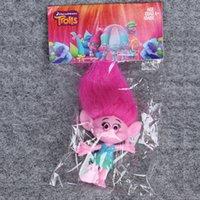 Wholesale Retail Trolls Action Figures Poppy Branch Movie Figures High Quality PVC Mini Figures Children Gifts