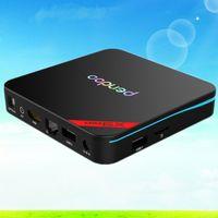 Wholesale Android TV Box Android Marshmallow Octa core Amlogic S912 x9 pro GB GB Pendoo Kodi Fully Load G WIFI BT4