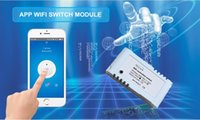 Wholesale New DC V Wifi Switch Controller Timer Module For Smart Home Garage Door Via IOS Android