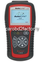 Wholesale Original AutoLink AL519 AL AutoLink OBDII CAN Scan Tool OBD2 code reader Engine tools with multi language with DHL