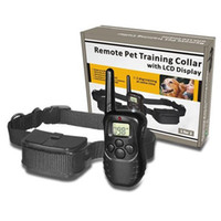 anti level control - 100LV Level meter D Electronic Dog Collar Remote Control Anti Bark Dog Shock Training Collar With LCD Display