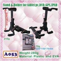 Wholesale A053 mobile stand for IPAD tablet pc MID ePAD use for ONDA V711 V712 V801 V811 ainol NOVO7 EKEN A90 SANEL N90 U30GT PD10