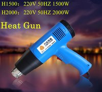 Wholesale New Professional W V two gears adjustable temperature hot air gun heater softening Heat shrinkable film electric heat gun