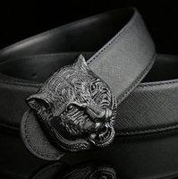 Wholesale Hot fashion buckle belts for men genuine leather gold cinto belt designer belts Men high quality fend belt l free Epacket shipping
