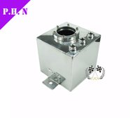 Wholesale ALUMINUM L FUEL SURGE TANK A SURGE TANK fit PUMP mm Fuel Tanks Oil Catch can univesal in stock ready to ship