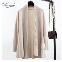angora sweaters - Quality guarantee Peplum Blusa Autumn Winter Poncho Crochet Knit Tops angora wool Twist Sweater Women Cardigans Coat WS