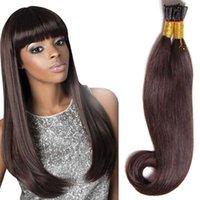 7A Grade droite I Conseil Extension de cheveux 18-24 pouces brésilien pré-collé extensions de cheveux vierges 100 bâtonnets 50g multi-couleur cheveux humains tisse