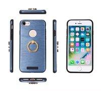 apple fake - MOTOMO Fake metal ribbon ring sheath TPU Metal in cell phone cases