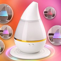 Wholesale 2017 New Colorful Aroma Diffuser USB Humidifier Air Purifier Atomizer Essential Oil Diffuser Mist Maker Fogger aromatherapy