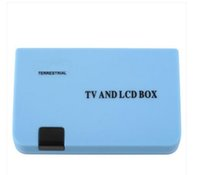 Wholesale Digital TV Box Tuner DVB T Receiver LCD for TV radio on hot sale in low price