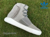 Cheap Authentic Adidas Yeezy 750 Boost Grey B35309 Mens Basketball Shoes Women Kanye West Boost 750 Yezzy Shoes Fashion Yeezys Sneaker With Box