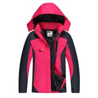 Wholesale In ms charge Lady s winter with short thickening and cloth with soft nap outdoors ski wear women s coat