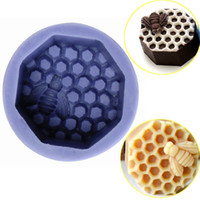 bees wax candles - Bee Wax Silicone Fondant Mould Candle Soap Bake Icing Sugarcraft Mold DIY Cake Decoration